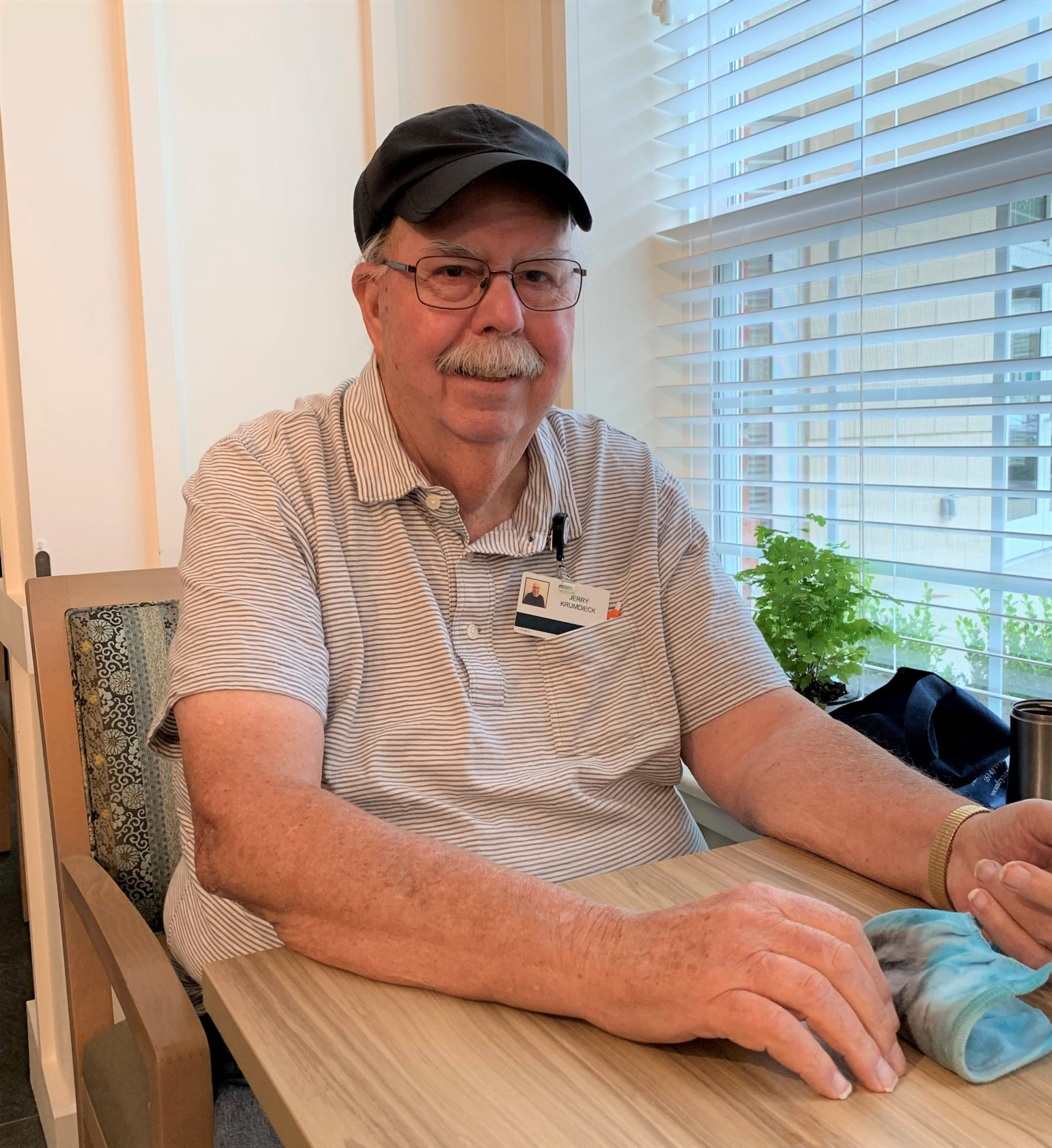 """This Is My Home"" – Jerry Shares His Thoughts on Life at Wesley Woods at New Albany"